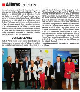 Info Magazine 30 septembre 2013