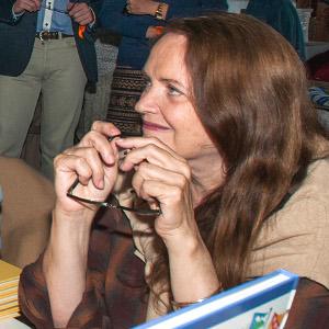 Nicole LAMBERT, présente au salon du livre de Royat Chamalières