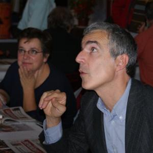 SERS Caroline et CARLIER Christophe, présents au Salon du Livre de Royat Chamalières.
