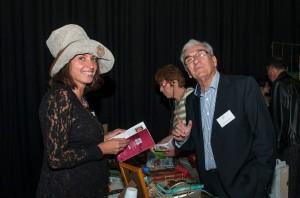 Emmanuelle MAISONNEUVE et Antonin MALROUX, présents au salon du livre