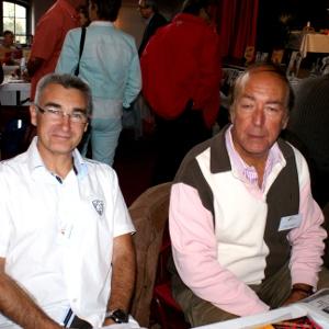 FAYET Gérard et VERGÈS Patrice, présents au Salon du Livre de Royat Chamalières