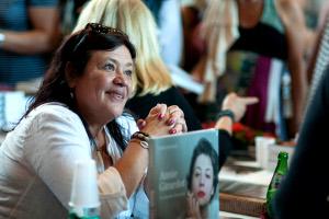 Giulia SALVATORI, présente au salon du livre de Royat Chamalières