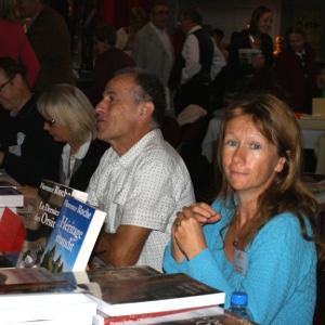 MERCADIÉ Louis et ROCHE Florence, présents au Salon du Livre de Royat Chamalières