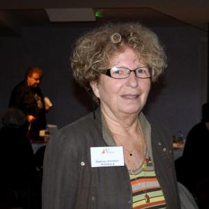 MANSIET-BERTHAUD Madeleine, présente au Salon du Livre de Royat Chamalières.