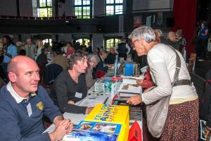Rencontres au salon du Livre de Royat Chamalières : Valentin UTA et François LASSERE