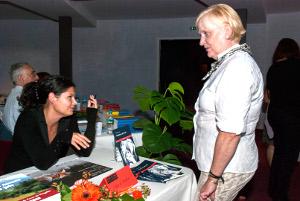 Rencontres au salon du Livre de Royat Chamalières : Cindy de AMARAL
