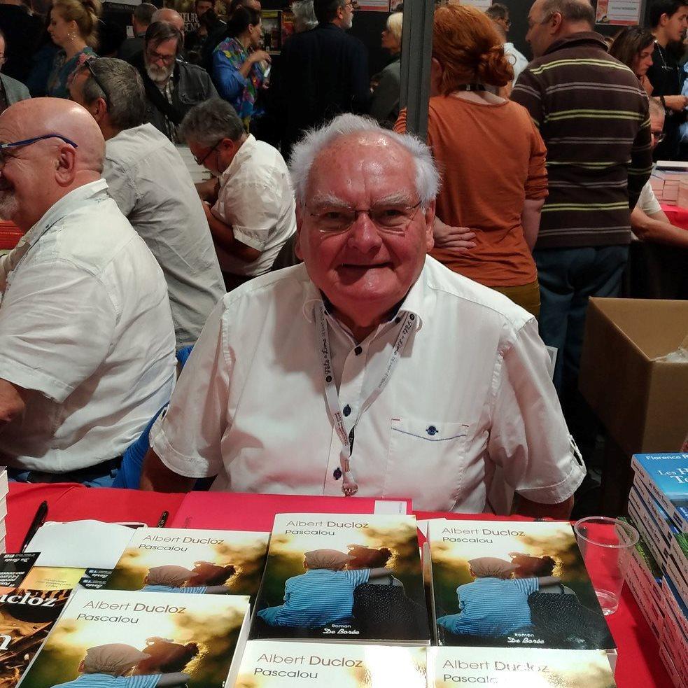 Portrait de Albert DUCLOZ - auteur présent au Salon du Livre de Royat-Chamalières 2019