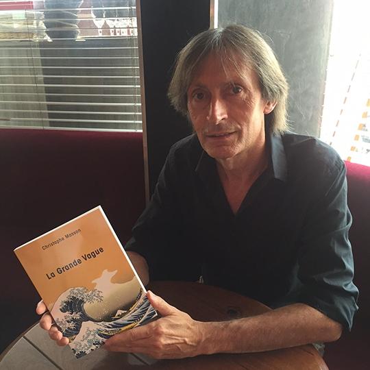 Portrait de Christophe MASSON - auteur présent au Salon du Livre de Royat-Chamalières 2019