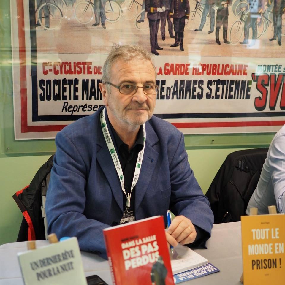Portrait de René PAGIS - auteur présent au Salon du Livre de Royat-Chamalières 2019