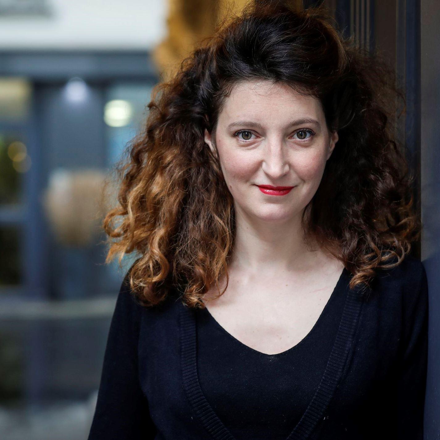 Portrait de Léa WIAZEMSKY - - autrice présente au Salon du Livre de Royat-Chamalières 2019