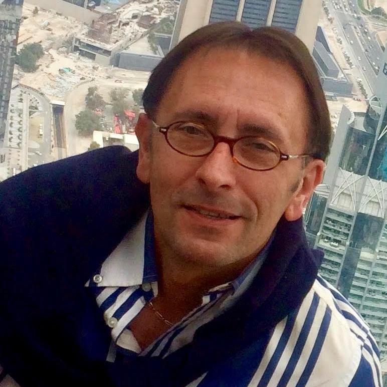 Portrait de Thierry POYET - auteur présent au Salon du Livre de Royat-Chamalières 2019