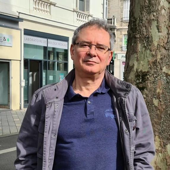 Portrait de Michel GUÉRIN- auteur présent au Salon du Livre de Royat-Chamalières 2020