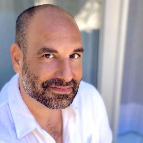 Portrait de David ZAOUI- auteur présent au Salon du Livre de Royat-Chamalières 2020